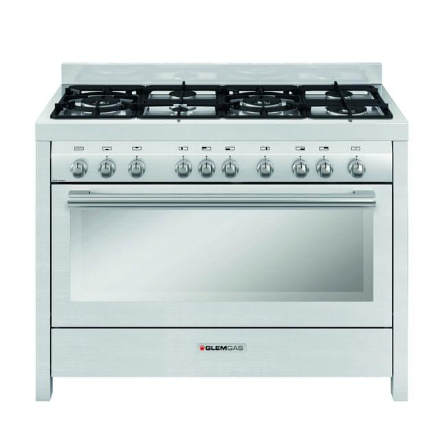 GLEM GAS | COOKER  6 GAS BURNER + GAS OVEN | 120 X 60 CM | MLW626VI