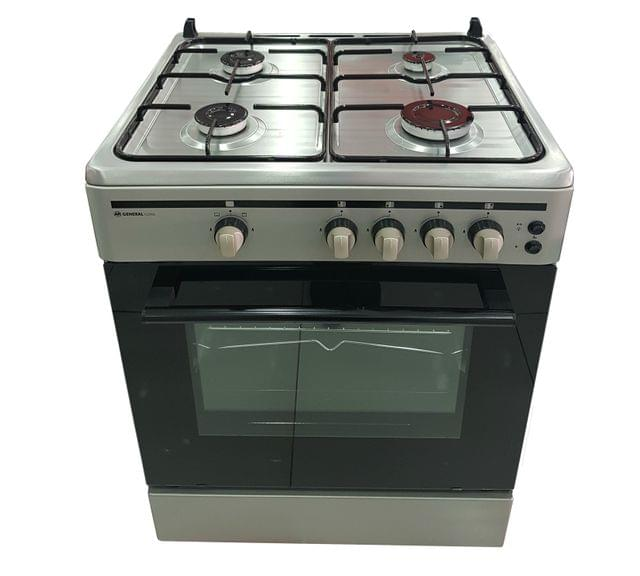 GENERAL COOL   COOKER CM 4 GAS BURNER + GAS OVEN   600 X 600 MM   C60GS