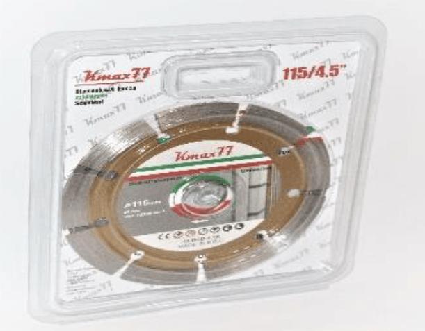 "KMAX77 | Diamond Cutting Disc 4.5"" /7"" /9"" | 18-DCD-4.5K"