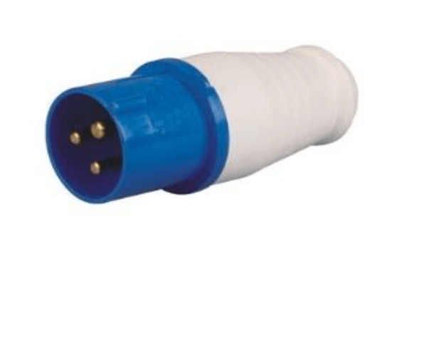 Industrial Socket Male 3 Pin 16A | 18-ISM-16A
