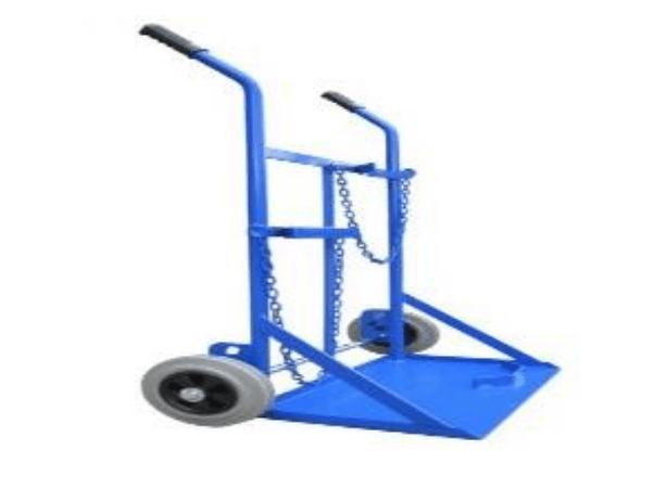KMAX77   2 Wheel Gas Trolly   Double Blue   18-GTDCB-K