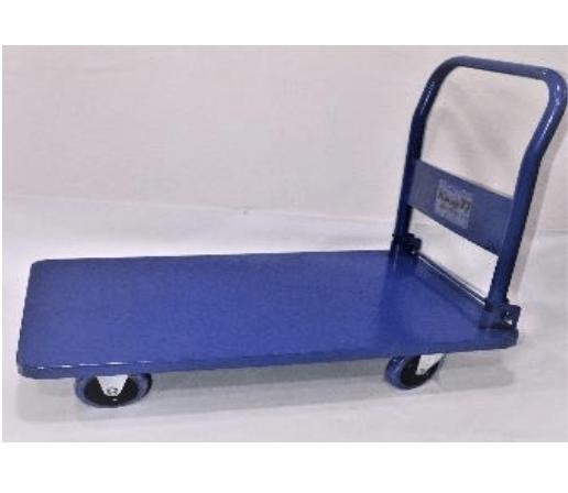 KMAX77   4 Wheel Trolley 150 kgs   Full Steel/Hd   18-TFS-150KG
