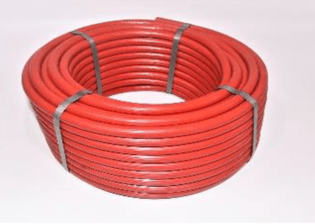 Gas Hose Red | 40/Mt 8MM |ITALY | 18-GHR-8X40I