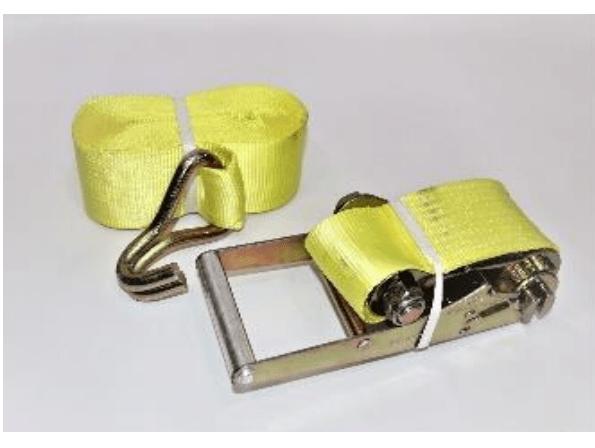 "Cargo Lashing Belt | Yellow 3""X 10Mtr | 18-CLBY-3K"