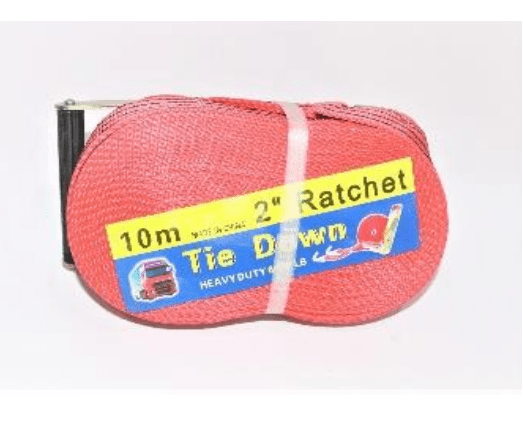 "Cargo Lashing Belt | Orange 2""X10Mtr 