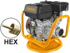 INGCO   Gasoline Concrete Vibrator Engine(Hex type)   4.0 KW   24 KG   GVR-22