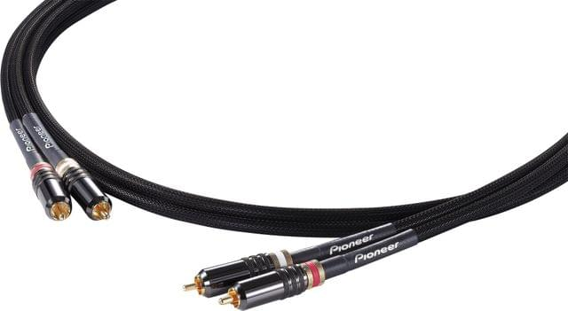 PIONEER | DJ High-End RCA Analogue Cable | 2 M | DAS-RCA020R