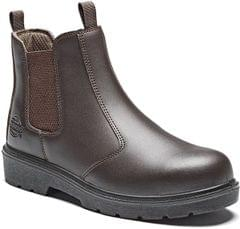 DICKIES | Safety Dealer Boot Sizes 6-12 Black /Brown | FA23345