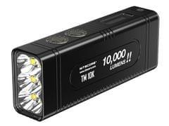 NITECORE   Tiny Monster Burst Rechargeable Flashlight 10000 Lumens   TM10K