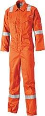 DICKIES | Lightweight Pyrovatex Coverall NavyBlue /Red /Orange | FR5401