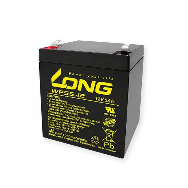 KUNG LONG | CYCLE SCOOTER BATTERY | 12V 5AH | WPS5-12