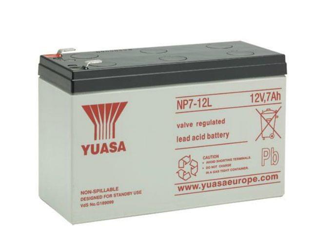 YUASA | CYCLE SCOOTER BATTERY | | 12V 7AH | NP7-12L
