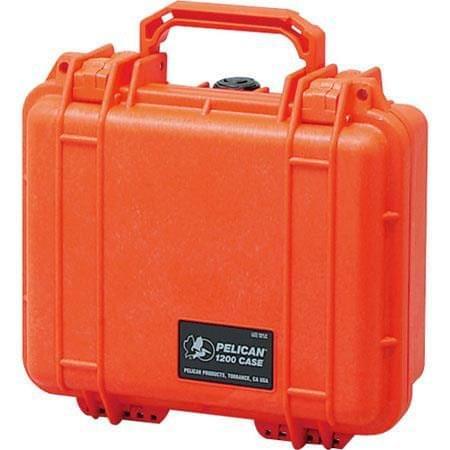 PELICAN | Case with No Foam Orange | 1200-001-150