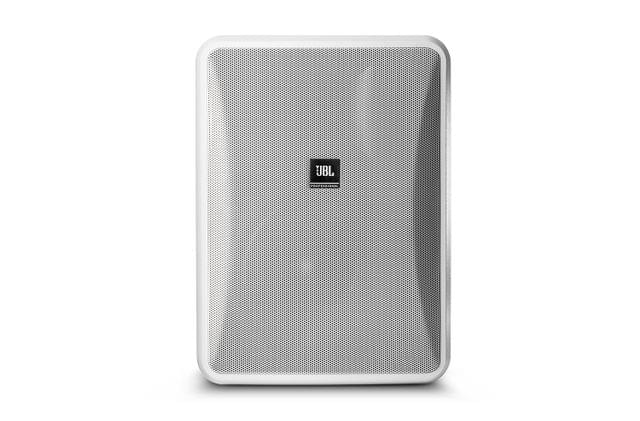 JBL | High Output Indoor/Outdoor, Background/Foreground Speaker | White | 8"
