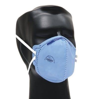 PROMAX | Dust Mask & Flat Fold Style Respirator | White | PS 420 SL