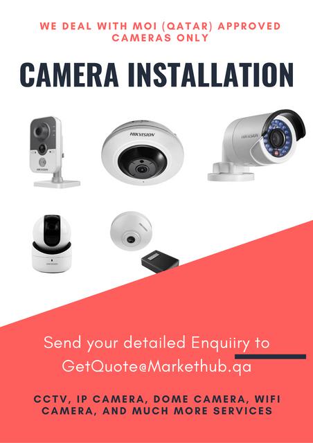 IP CCTV Camera Installation from Licensed Service Provider