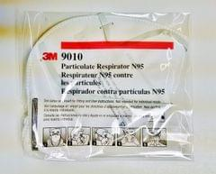 3M | Disposable N95 Particulate Respirator Face Mask ( 1 PC ) | Individually Wrapped  | 9010
