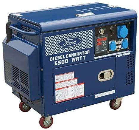 FORD | Max Diesel Generator Three Phase | 380v/50Hz | 5000W | FD6700S-T