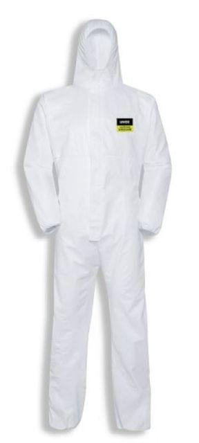 UVEX   DISPOSABLE COVERALL   UVEX 5/6   Classic Chemical Protection Suit   White