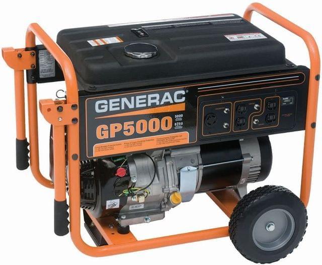 GENERAC | GENERATOR (PETROL) |  5.0 KVA |  27 Litres | GEGP5000