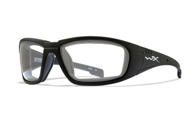 WILEY X | BOSS Clear Matte Black Frames | CCBOS03