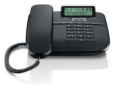 GIGASET   Corded Telephone   Black   S30350-S212-W101