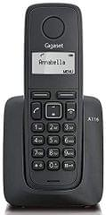 GIGASET | Cordless Phone Speakerphone | Black | S30852-H2801-A701 (A116)