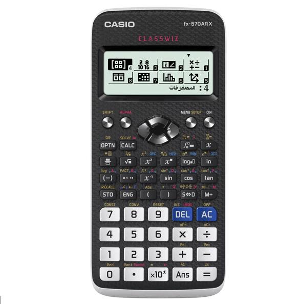 CASIO | Scientific Calculator | 99.8g | Black | FX-570ARX-W-DH