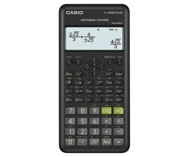 CASIO | Scientific Calculator | 95g |  Black | FX-350ESPLUS-2WDTV