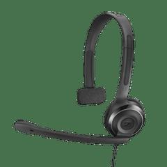 SENNHEISER | PC 7 USB Mono Headset | 2000 mm | Black | 62 g | 504196