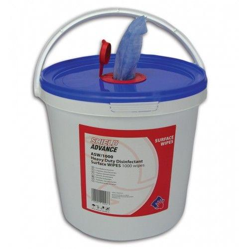 Disposable Wet Surface Wipes - Heavy duty (1000 Pcs/Pack) | SHIELD ASW/1000