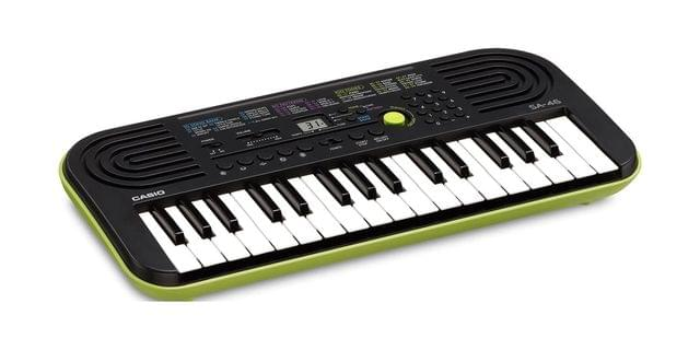 CASIO | Mini Musical Keyboard | 100 tones | Black | 1.0kg | SA-46AH2