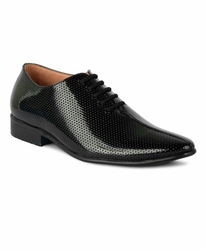psta black derby shoe