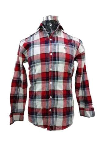 RED CHECK SHIRT CASUAL