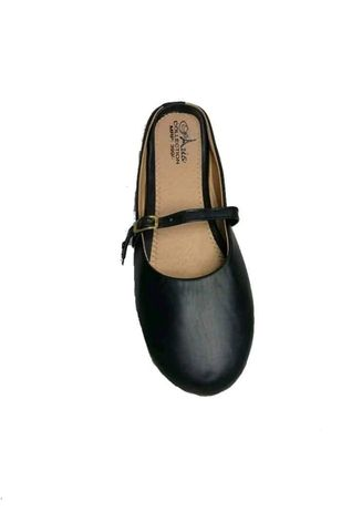 BLACK BELLY SHOE HALF