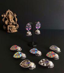 HabereIndia Fashion Jewellery for Party and Festives - Jhumki