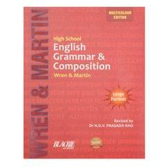 High School English Grammar & Composition Wren Martin Multi Colour  Edition 2016