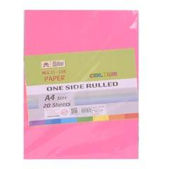 Lotus A4 Size 20 Sheets Multi Use One Side Rulled