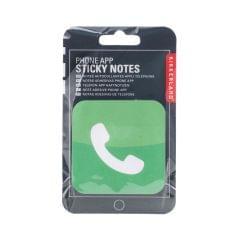 Kikkerland  Phone App Sticky Notes (ST80-A)
