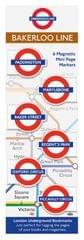 TCCIF London Under Ground Bakerlo Book Mark (98101)
