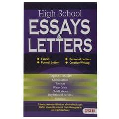 High School Essays Letters