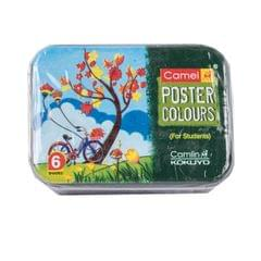 Camlin Poster Colours 6 Shades