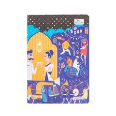 Taj White A4 Notebook 200P 4548