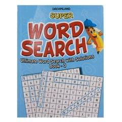 Super word search book -3