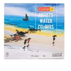 Camlin Artist Water Colour Box 9 MLx18 Shades