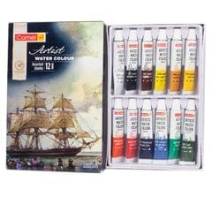 Camlin Artist Water Colour Box 5 mlx12 Shades