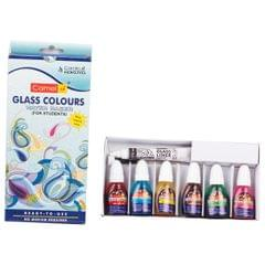 Camlin Glass Colours 6 Shades