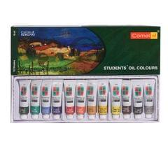Camlin Student Oil Colours  9ml 12 Shades