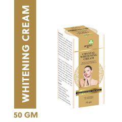 Aegte Crystal Whitening Cream Skin Illuminosity Enhancing Formula Natural SPF 20+++ Day Care Cream-50 mg