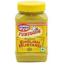 DR.OETKER FUNFOODS - ENGLISH MUSTARD - 300 Gms